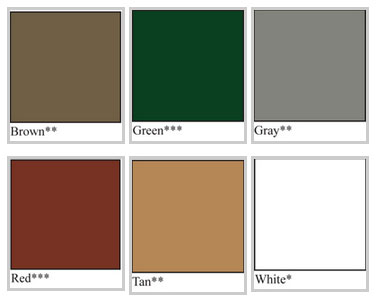 Ib Flat Roofing System Colors