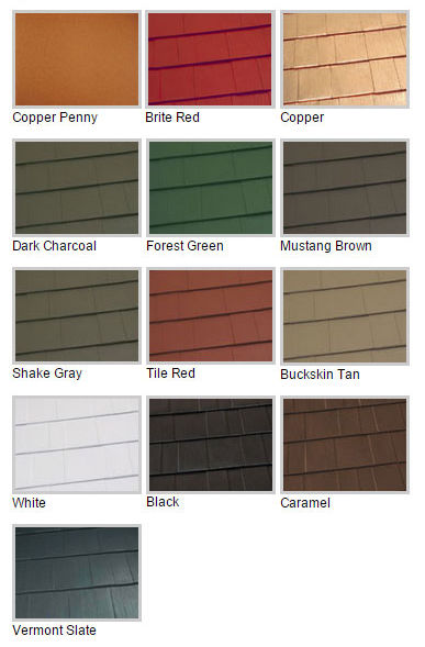 Oxford Shingle Colors